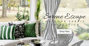 serene escape outdoor fabric collection made in the usa