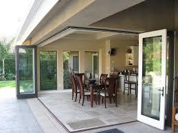plain patio folding glass and bifold patio doors d