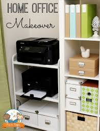 closet home office. inexpensive home office printer stand closet