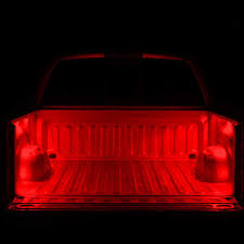 under bed led lighting. Truck Bed LED Lighting Under The Rail MAX 4 Piece Red Led