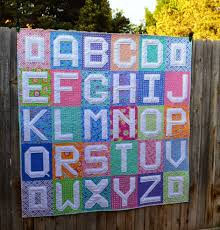 Happy Quilting: ABC Quilt Finish!! & Each letter finished at 10