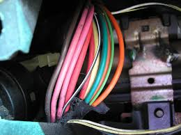bulldog security diagrams this is a close up view of the ignition switch wires in the harness behind the ignition switch of this vehicle