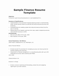 Resume Writing Samples Sample Resume For Experienced Mba Finance New Professional Resume 86
