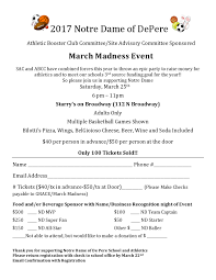 March Madness Flyer March Madness 2017 Registration Flyer Page0001 Green Bay Area