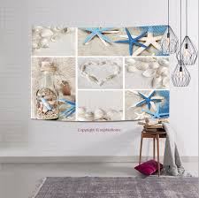 sophiehome 70812919 collage of summer seas tapestry wall hanging magical thinking tapestry 59w x 39 3