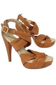 default view view1 view2 view3 brown next pour la victoire brown leather strappy sandal