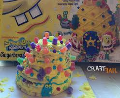 Spongebob Gingerbread Fail Craftfail