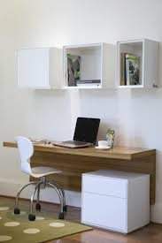 make your own office desk. Computer Desk Designs, Floating Desk, Designs Ideas, How To Make Build Your Own Office N