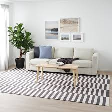 Ikea stockholm 2017 trading spaces ikea stockholm ikea living. Stockholm 2017 Rug Flatwoven Stripe Handmade Stripe White Gray Ikea