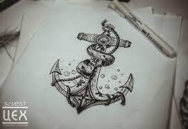 якорь эскизы тату татуировки эскизы значение надписи фото Tattoo