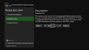 Uwp On Xbox One Samples Windows Uwp Applications