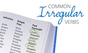 Present Past And Past Participle Chart Pdf Complete English Irregular Verb List Free Pdf Download