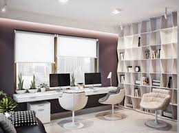 fancy home office. 32 Modern Home Office Ideas On Spacious Ukranian Apartment 4 Fancy Contemporary Office. « »