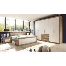 Designer Möbel Trends Loftscape Schlafzimmerset Rachid 4 Teilig