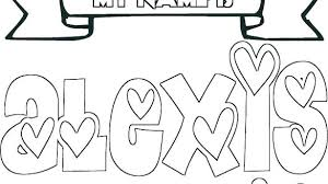 Images Of Names Coloring Pages Sabadaphnecottage