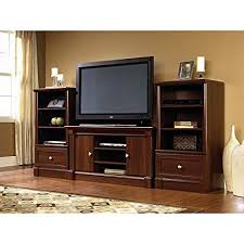 entertainment center with towers. Dual Tower Televison TV Entertainment Center And Media Stand Storage Towers In Cherry Wood With Amazoncom