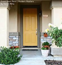 modern front door colors.  Door Adore Your Front Door Contest Winner Karen Berg Of California Used Modern  Masters Paint Intended Colors O