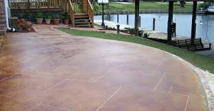 outdoor concrete stain red stain grout lines concrete patios artistic concrete floors la outdoor concrete stain
