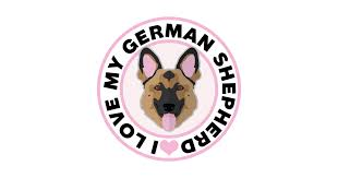 i love my german shepherd t shirt