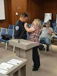 Plainview PD swears in new officers - Plainview Herald