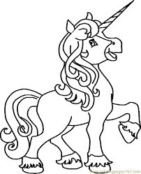 Small Picture Coloring Pages Unicorns Children Coloring