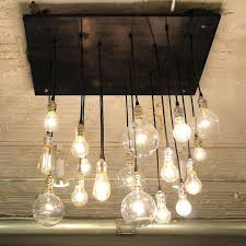 51 most fabulous light bulb chandelier cover industrial thumbnail edison diy chandeliers who sings under wagon