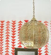 diy candle lantern chandelier