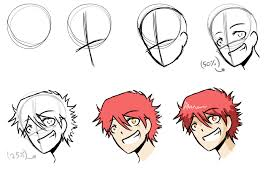 how to draw anime characters step by step for beginners. How Draw Anime Stepbystep By ABDillustrates Throughout To Characters Step For Beginners