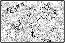 Small Picture Coloring Pages For Adults Unique Fantasy At Butterfly Coloring