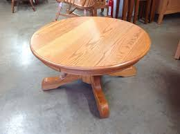 antique round pedestal coffee table review