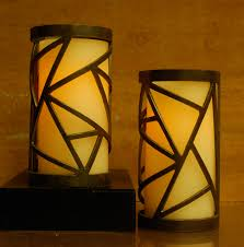 Metal Candle Holder Designs Triangle Design Metal Candle Holder Luminary