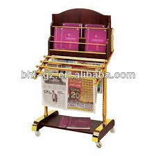 magazine rack office. high quality fourlayer wooden office furniture newspaper rack magazine for hotel a
