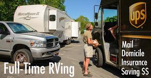 Rv Insurance Quote Interesting Fulltime RV Tips Mail Domicile Insurance Saving Money Roads