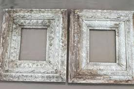 antique wood picture frames. Vintage Wood Picture Frames Antique Pair Of Ornate Old  W Shabby White