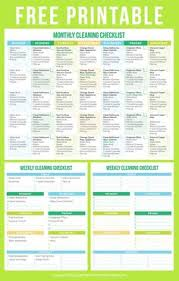The Most Amazing Cleaning Schedules Ever Useful Info Cleaning