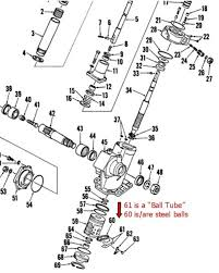 manual steering sector for 284 international tractor 24hourcampfire the way i understand it this is a diagram of a power steering sector but it shows the ball tube and bearings that my uncle pointed out to me on the