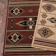 southwestern stars brown rug 8 x 10