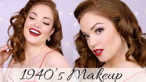 1940s hollywood glam makeup through the decades