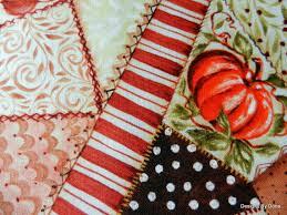 One Fat Quarter Quilt Fabric Cheater Cloth Fall by DesignsByDona ... & One Fat Quarter Quilt Fabric Cheater Cloth Fall by DesignsByDona (Craft  Supplies & Tools, Adamdwight.com