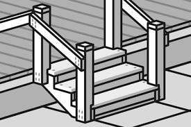 Einen carport selber bauen, auch mit bauplan, bedeutet nicht, dass man alles ganz alleine machen kann. Terrassentreppe Bauen Anleitung Von Hornbach