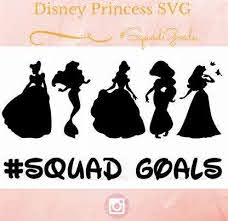No physical item will be delivered. Image Result For Free Disney Svg Auntie Files For Cricut Disney Princess Silhouette Disney Silhouette Princess Silhouette