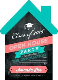 Online Graduation Party Invitations Open House Party Invitation Templates Open House Invite Fun Open