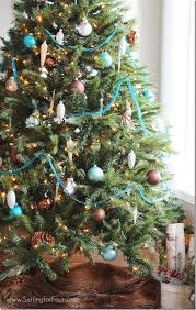 30 Christmas Tree DIY Ideas  Art And DesignBlue Christmas Tree Ideas
