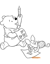 Winnie the Pooh & Friends Coloring Pages | Disney Coloring Book