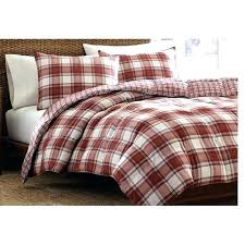 red checd duvet cover edgewood plaid duvet cover setbuffalo twin buffalo check flannel plaid duvet cover