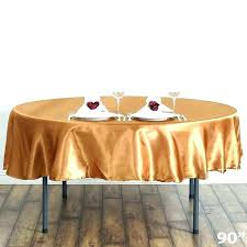 plastic tablecloths with elastic table covers round tablecloth gold linen vinyl 60 inch wit