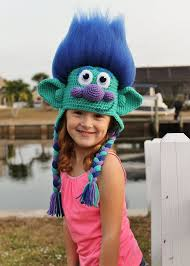 Trolls Crochet Hat Pattern Extraordinary Get Your Hair In The Air With This Amazing Happy Branch Crochet Hat