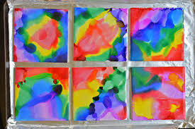 these sharpie dyed tile coasters are so beautiful and they re really easy wouldn