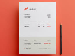 invoices free template 20 free invoice templates word pdf psd utemplates