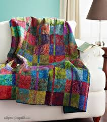 Create vibrant, graphic quilts using batik fabric. View a ... & Create vibrant, graphic quilts using batik fabric. View a collection of  free quilt patterns Adamdwight.com
